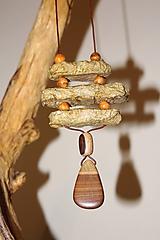 Náhrdelníky - náhrdelník paper-raw - 11276094_
