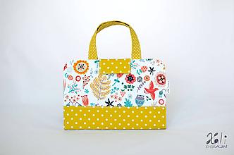 Detské tašky - Detský kufrík - pastelkovník Líščia lúčka - 11276835_