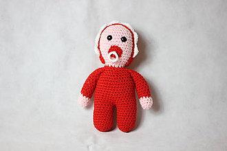 Hračky - Bábätká babuľky (Červená) - 11278068_