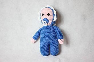 Hračky - Bábätká babuľky (Modrá) - 11278077_