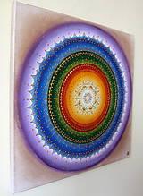Obrazy - Čakrová mandalka ZDRAVIA 40 x 40 - 11278080_