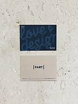 Darčekové poukážky - Gift card 50e - 11278199_