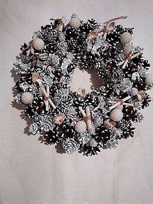 Dekorácie - Jesenné a vianočné venčeky na dvere - 11276748_