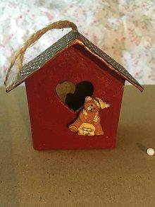 Drobnosti - Vianočné domčeky - 11278856_