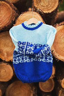 Detské oblečenie - Chlapčenský pulóver - 11278537_