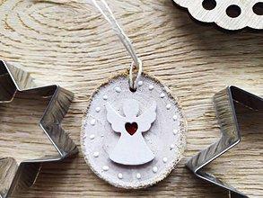 Dekorácie - Vianočný anjelik:-) - 11275563_
