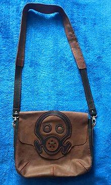 """Tašky - Kožená taška cez rameno """"Steampunk"""" - 11276022_"""