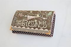Peňaženky - Andělka Růženka I.  - i na karty 13 cm - 11275588_