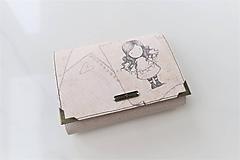 Peňaženky - Holčička - i na karty 13 cm - 11275601_