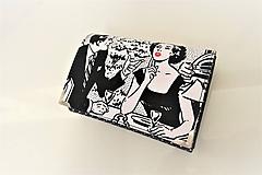 Peňaženky - Zavrete oči...odchádzam - i na karty 13 cm - 11275725_