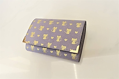 Peňaženky - Vidím Zlaté myšky - i na karty 13 cm - 11275728_