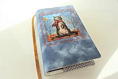 Papiernictvo - Kočičí podzim - obal na knihu - 11275879_