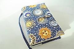 Papiernictvo - Slnko a mesiac  - obal na knihu - 11275934_