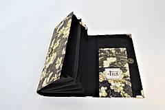 Peňaženky - Jasmine I. - 17cm na spoustu karet - peněženka 17 cm, na spoustu karet - 11276883_