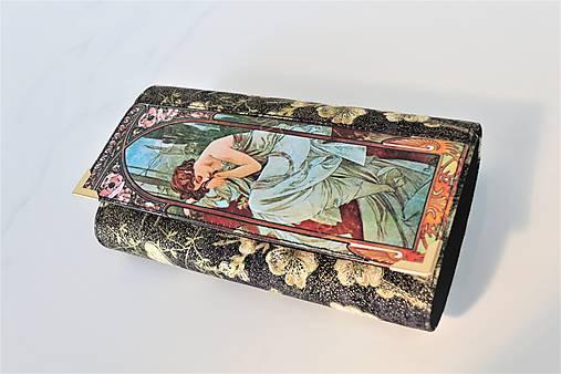 Jasmine I. - 17cm na spoustu karet - peněženka 17 cm, na spoustu karet