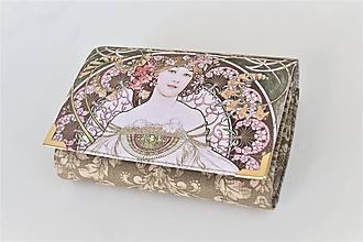 Peňaženky - Vesna - i na karty 13 cm  - 11275492_