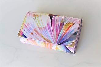 Peňaženky - Diamond Butterfly - i na karty 13 cm - 11275596_