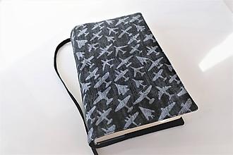 Papiernictvo - Letadla I.  - obal na knihu - 11275958_