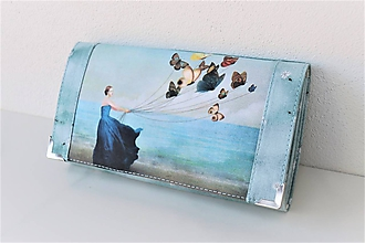Peňaženky - S mořským vánkem - 17cm na spoustu karet - peněženka 17 cm, na spoustu karet - 11277708_