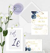 Papiernictvo - svadobné oznámenie 163 - 11276051_
