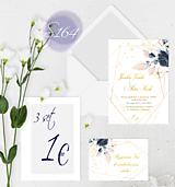Papiernictvo - svadobné oznámenie 164 - 11276061_