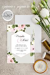 Papiernictvo - svadobné oznámenie 167 - 11276096_