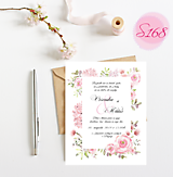 Papiernictvo - svadobné oznámenie 168 - 11276114_