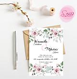 Papiernictvo - svadobné oznámenie 169 - 11276444_