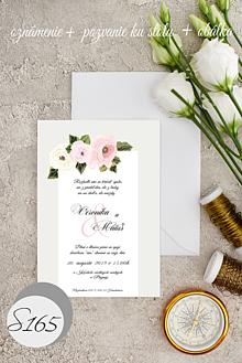 Papiernictvo - svadobné oznámenie 165 - 11276071_