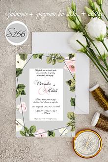 Papiernictvo - svadobné oznámenie 166 - 11276086_