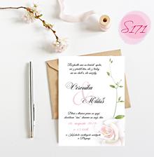 Papiernictvo - svadobné oznámenie 171 - 11276623_