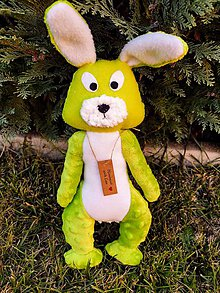 Hračky - Mojkáčik zajačik - 11274931_