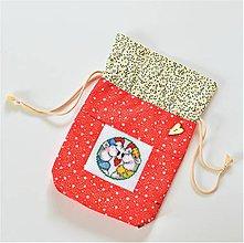 Úžitkový textil - Mikulášske/vianočné vrecúško pre zaľúbených - 11276657_