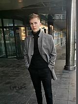 Oblečenie - pánsky kabát ADAM - 11275083_