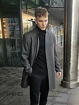 Oblečenie - pánsky kabát ADAM - 11276558_