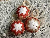 Dekorácie - Vianočná guľa na stromček - 11275664_