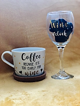 Nádoby - Before work - After work ♥️ Coffee and wine ♥️ - 11279026_
