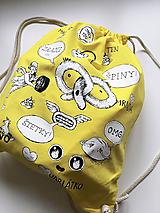 Batohy - Nadávajúci ruksak Štetky - 11279000_
