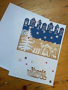 Papiernictvo - Pohľadnica betlehem v meste - 11275093_