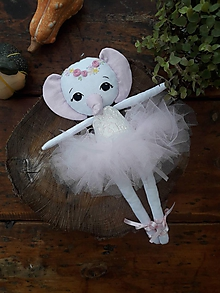 Hračky - zvieratko bábika (Emily) - 11281506_