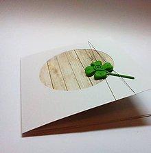 Papiernictvo - Pohľadnica ... veľa šťastia - 11283168_