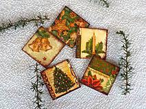 Magnetky - Vianočné magnetky - 11283284_