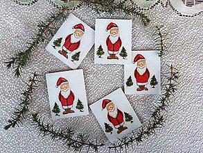 Magnetky - Santa-magnetky - 11283466_