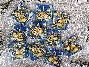 Magnetky - Vianočné magnetky - 11283603_