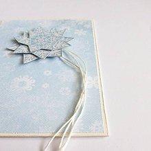 Papiernictvo - ❄ Vianočná pohľadnica ❄ - 11280000_