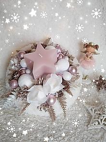 Dekorácie - Vianočný aranžmán - 11285167_
