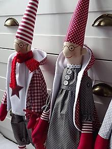Bábiky - Pán a pani škriatkovci - 11283877_