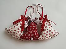 Dekorácie - Vianočné ozdoby, zvončeky - 11283183_