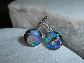 Náušnice - brincos com opalas-for happy - 11285360_