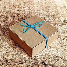 Obalový materiál - Krabička kraft 8x8x3 - 11283015_